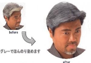 「白髪ぼかし」1