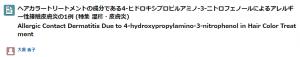 4 ヒドロキシプロピルアミノ3ニトロフェノールの成分解析