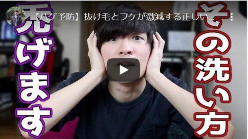 【ハゲ予防】抜け毛とフケが激減する正しいシャンプー方法!