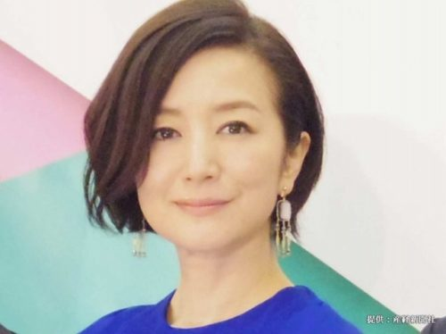薄毛(老け髪)の女性におすすめのおしゃれな髪型鈴木京香