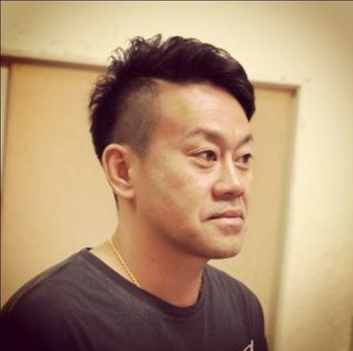 「男性」薄毛でもカッコよく見える髪型宮川大輔