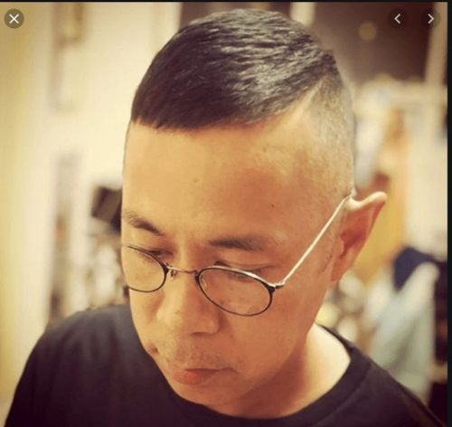 「男性」薄毛でもカッコよく見える髪型岡村隆史