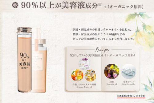 mixim Perfume(ミクシムパフューム)は美容成分90%?